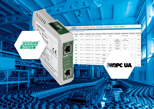 diagnostica profinet: TH Link e Th Scope
