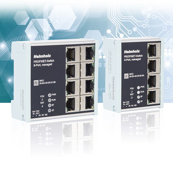 Switch Profinet 4/8 porte RJ45